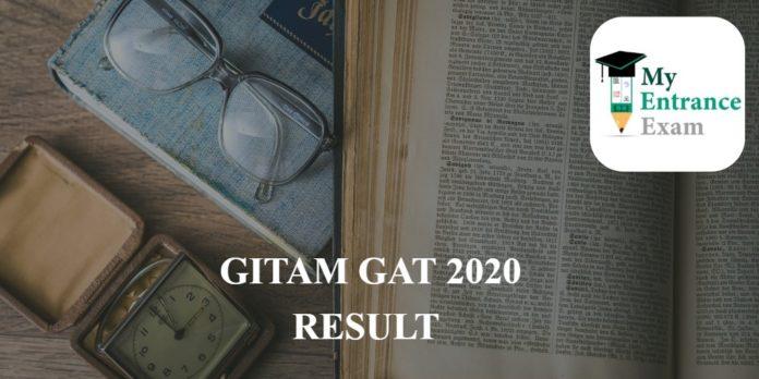 GITAM GAT 2020 RESULT