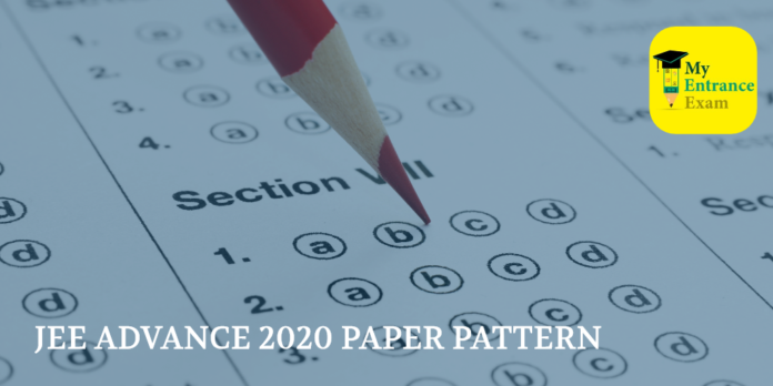 JEE ADVANCE 2020 PAPER PATTERN