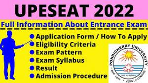 UPESEAT 2022 APPLICATION FORM