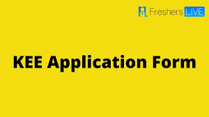 KEE APPLICATION FORM 2022