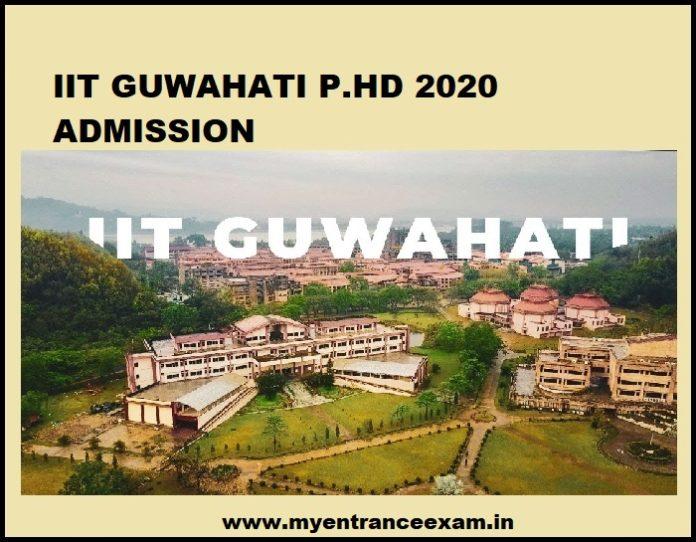 IIT Guwahati PH.D Admission