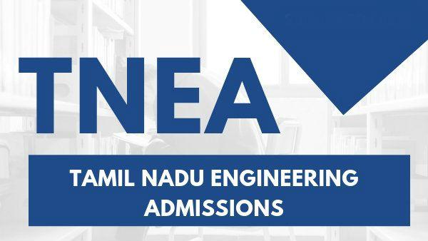 TNEA 2020 Admission