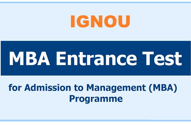 ignou mba entrance test 2020