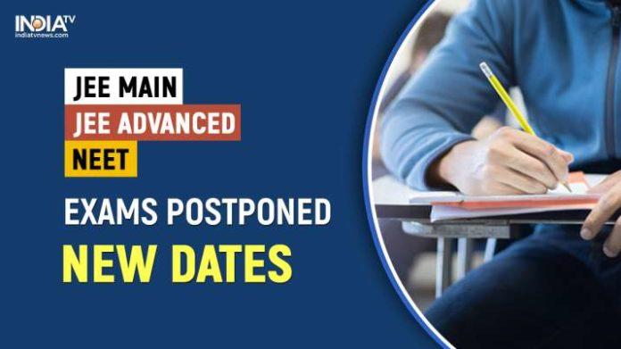 jee mains and neet exams postponed