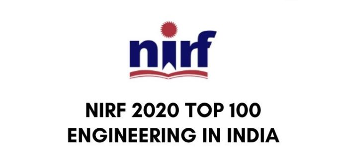 nirf list of top 100 engineering colleges in india