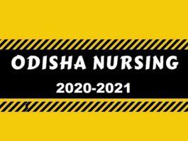 odisha nursing admission 2020