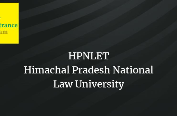 HPNLET 2020 admission