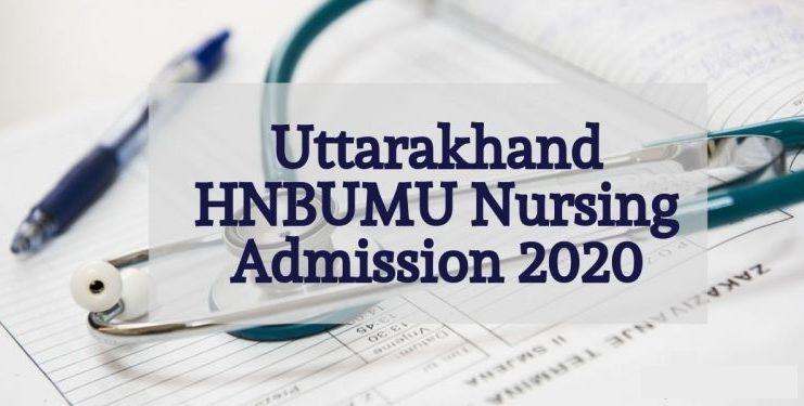 uttarakhand nursing admission 2020